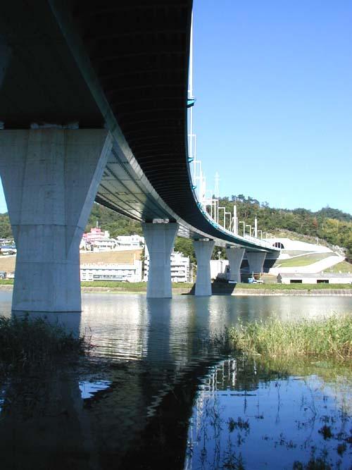 太田川放水路フォトで川くだり4